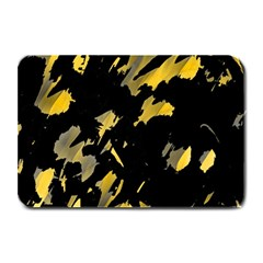 Painter Was Here   Yellow Plate Mats by Valentinaart