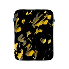 Painter Was Here   Yellow Apple Ipad 2/3/4 Protective Soft Cases by Valentinaart