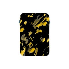 Painter Was Here   Yellow Apple Ipad Mini Protective Soft Cases by Valentinaart