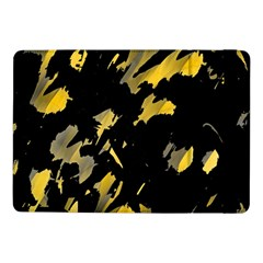 Painter Was Here   Yellow Samsung Galaxy Tab Pro 10 1  Flip Case by Valentinaart