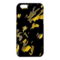 Painter was here - yellow iPhone 6/6S TPU Case by Valentinaart
