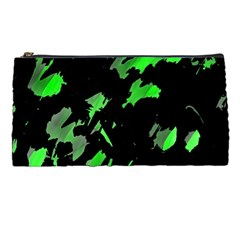 Painter Was Here   Green Pencil Cases by Valentinaart