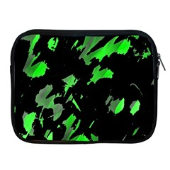 Painter Was Here   Green Apple Ipad 2/3/4 Zipper Cases by Valentinaart