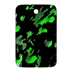 Painter Was Here   Green Samsung Galaxy Note 8 0 N5100 Hardshell Case  by Valentinaart
