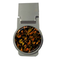 Abstract Autumn  Money Clips (Round)