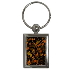 Abstract Autumn  Key Chains (rectangle)  by Valentinaart