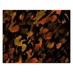 Abstract Autumn  Rectangular Jigsaw Puzzl by Valentinaart