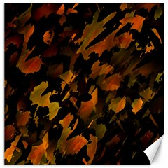 Abstract Autumn  Canvas 16  X 16   by Valentinaart