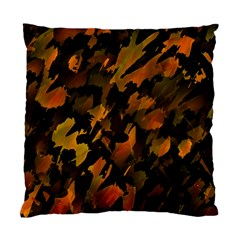 Abstract Autumn  Standard Cushion Case (two Sides) by Valentinaart