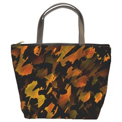 Abstract Autumn  Bucket Bags by Valentinaart