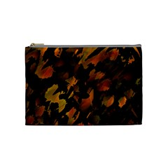 Abstract Autumn  Cosmetic Bag (medium)  by Valentinaart