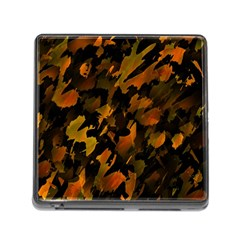 Abstract Autumn  Memory Card Reader (square) by Valentinaart