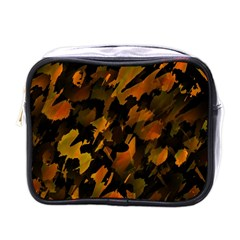 Abstract Autumn  Mini Toiletries Bags by Valentinaart