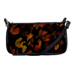 Abstract Autumn  Shoulder Clutch Bags by Valentinaart