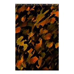 Abstract Autumn  Shower Curtain 48  X 72  (small)  by Valentinaart