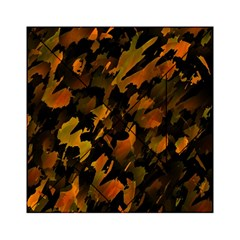 Abstract Autumn  Acrylic Tangram Puzzle (6  X 6 ) by Valentinaart