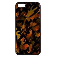 Abstract Autumn  Apple Iphone 5 Seamless Case (black) by Valentinaart