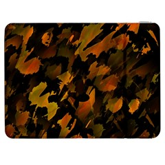 Abstract Autumn  Samsung Galaxy Tab 7  P1000 Flip Case by Valentinaart