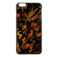 Abstract Autumn  Apple Iphone 6 Plus/6s Plus Black Enamel Case by Valentinaart