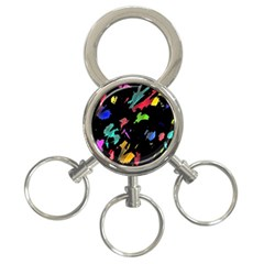 Painter Was Here 3 Ring Key Chains by Valentinaart