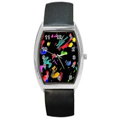 Painter Was Here Barrel Style Metal Watch by Valentinaart
