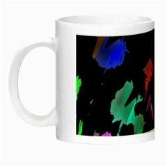 Painter Was Here Night Luminous Mugs by Valentinaart