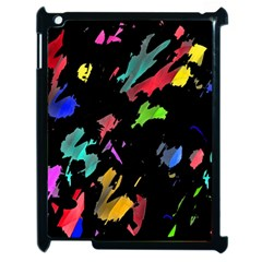 Painter Was Here Apple Ipad 2 Case (black) by Valentinaart