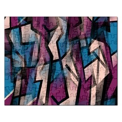 Purple High Art Rectangular Jigsaw Puzzl by Valentinaart