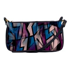 Purple High Art Shoulder Clutch Bags by Valentinaart