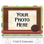 2017 Calendar Mix - Wall Calendar 11  x 8.5  (12-Months)