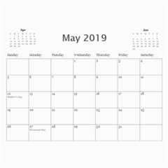 2017 Tfs Calendar By Lisa Minor   Wall Calendar 11  X 8 5  (12 Months)   Ksi5je6nqvub   Www Artscow Com May 2017