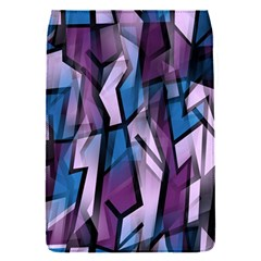 Purple Decorative Abstract Art Flap Covers (s)  by Valentinaart