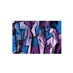 Purple Decorative Abstract Art Satin Wrap by Valentinaart