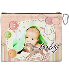 Baby By Baby   Canvas Cosmetic Bag (xxxl)   Bphf9o3fecrr   Www Artscow Com Back