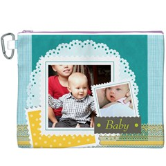 Baby By Baby   Canvas Cosmetic Bag (xxxl)   Ggmsombcnl4u   Www Artscow Com Front