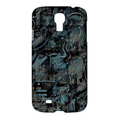 Blue Town Samsung Galaxy S4 I9500/i9505 Hardshell Case by Valentinaart