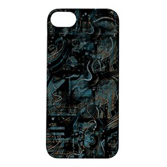 Blue Town Apple Iphone 5s/ Se Hardshell Case by Valentinaart
