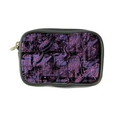 Purple Town Coin Purse by Valentinaart