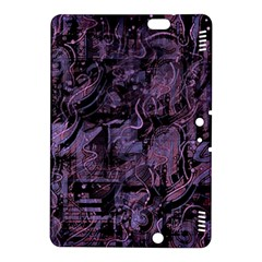 Purple Town Kindle Fire Hdx 8 9  Hardshell Case by Valentinaart