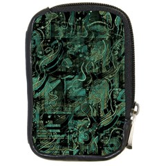 Green Town Compact Camera Cases by Valentinaart
