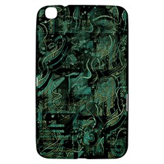 Green Town Samsung Galaxy Tab 3 (8 ) T3100 Hardshell Case  by Valentinaart