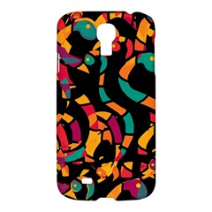 Colorful Snakes Samsung Galaxy S4 I9500/i9505 Hardshell Case by Valentinaart