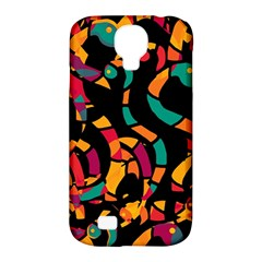 Colorful Snakes Samsung Galaxy S4 Classic Hardshell Case (pc+silicone) by Valentinaart