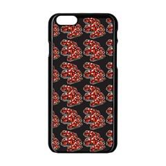 Hsp On Black Apple Iphone 6/6s Black Enamel Case