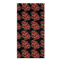 Hsp On Black Shower Curtain 36  X 72  (stall)  by fashionnarwhal