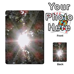 Sun Rays Through White Cherry Blossoms Multi Purpose Cards (rectangle)  by picsaspassion