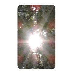 Sun Rays Through White Cherry Blossoms Memory Card Reader by picsaspassion