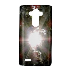 Sun Rays Through White Cherry Blossoms Lg G4 Hardshell Case by picsaspassion