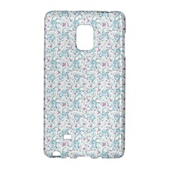Intricate Floral Collage  Galaxy Note Edge by dflcprintsclothing