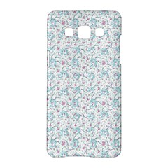 Intricate Floral Collage  Samsung Galaxy A5 Hardshell Case  by dflcprintsclothing